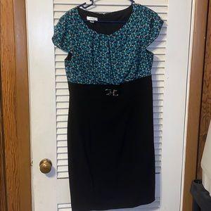 Black Skirted Dress